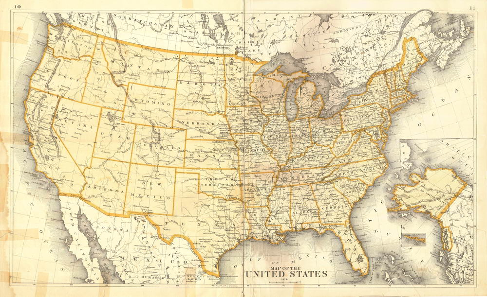 Old Us Map Related Keywords Old Us Map Long Tail