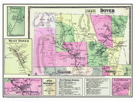 Dover Vermont Map Old Maps   Dover, VT