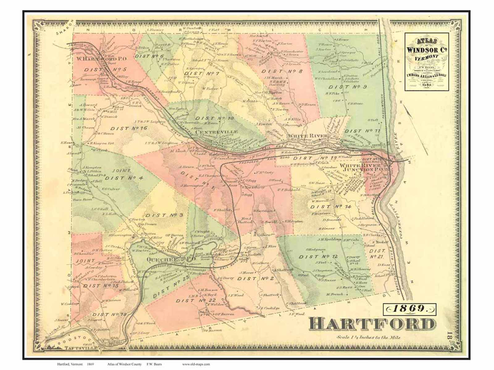 Hartford Vermont Genealogy  FamilySearch Wiki