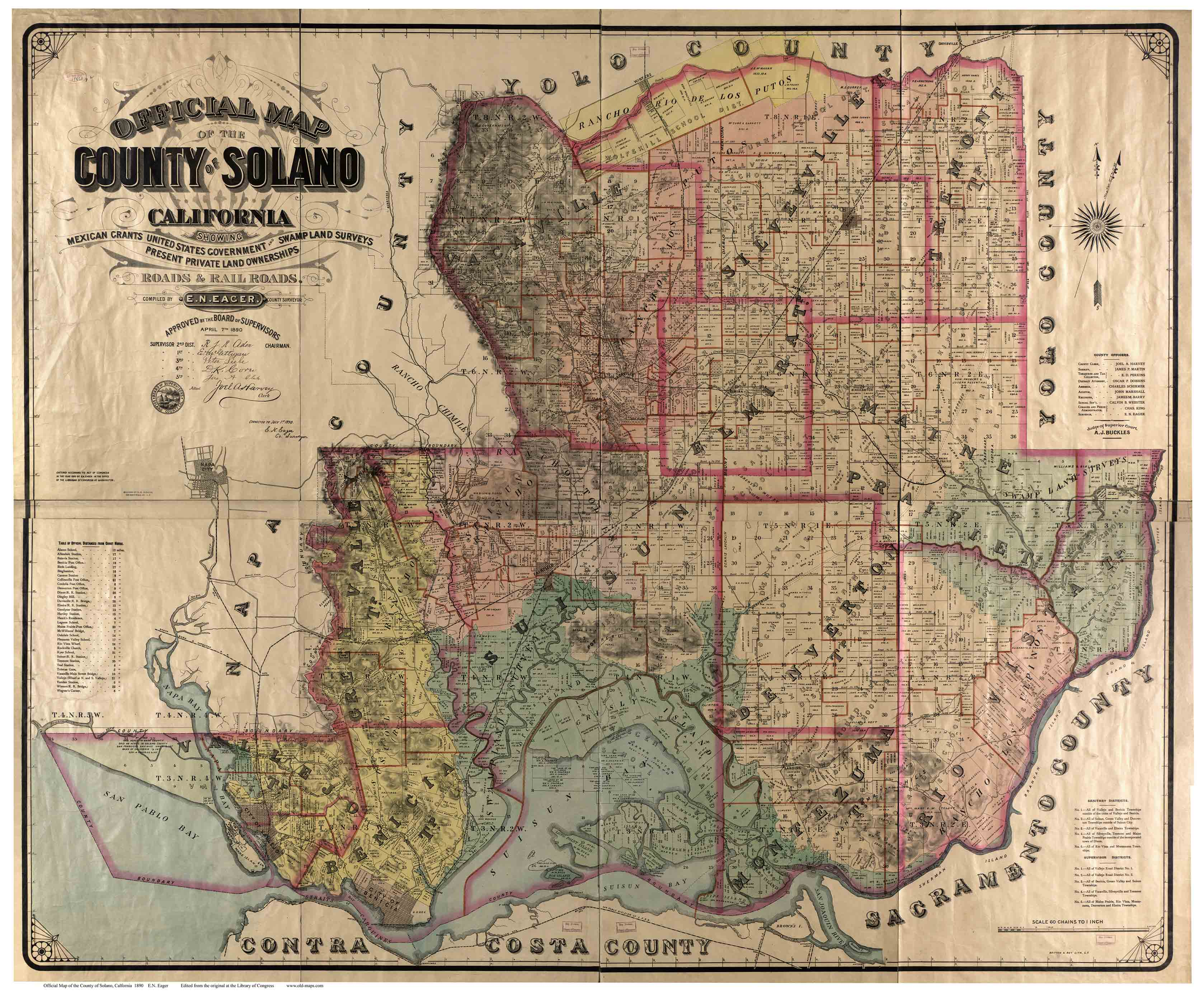 Solano County California USGS Topographic Maps on CD