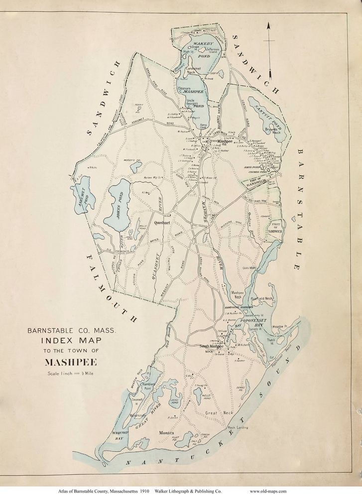 Street map Barnstable Massachusetts