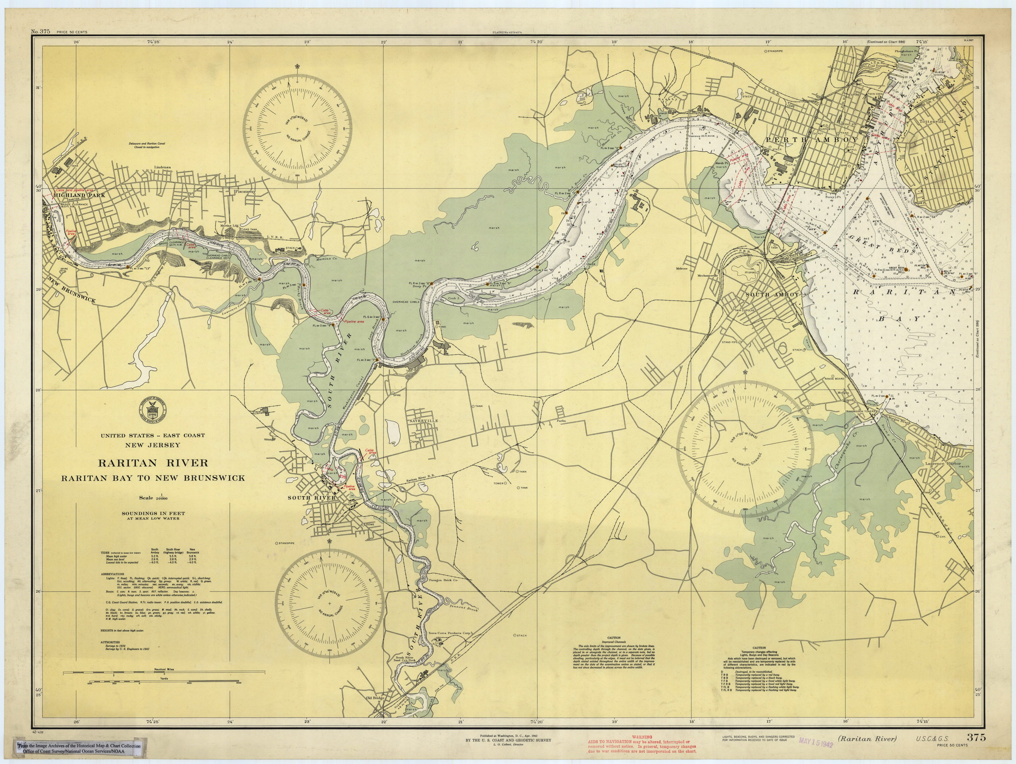 Historical Nautical Charts Of New Jersey - Nautical maps atlantic us
