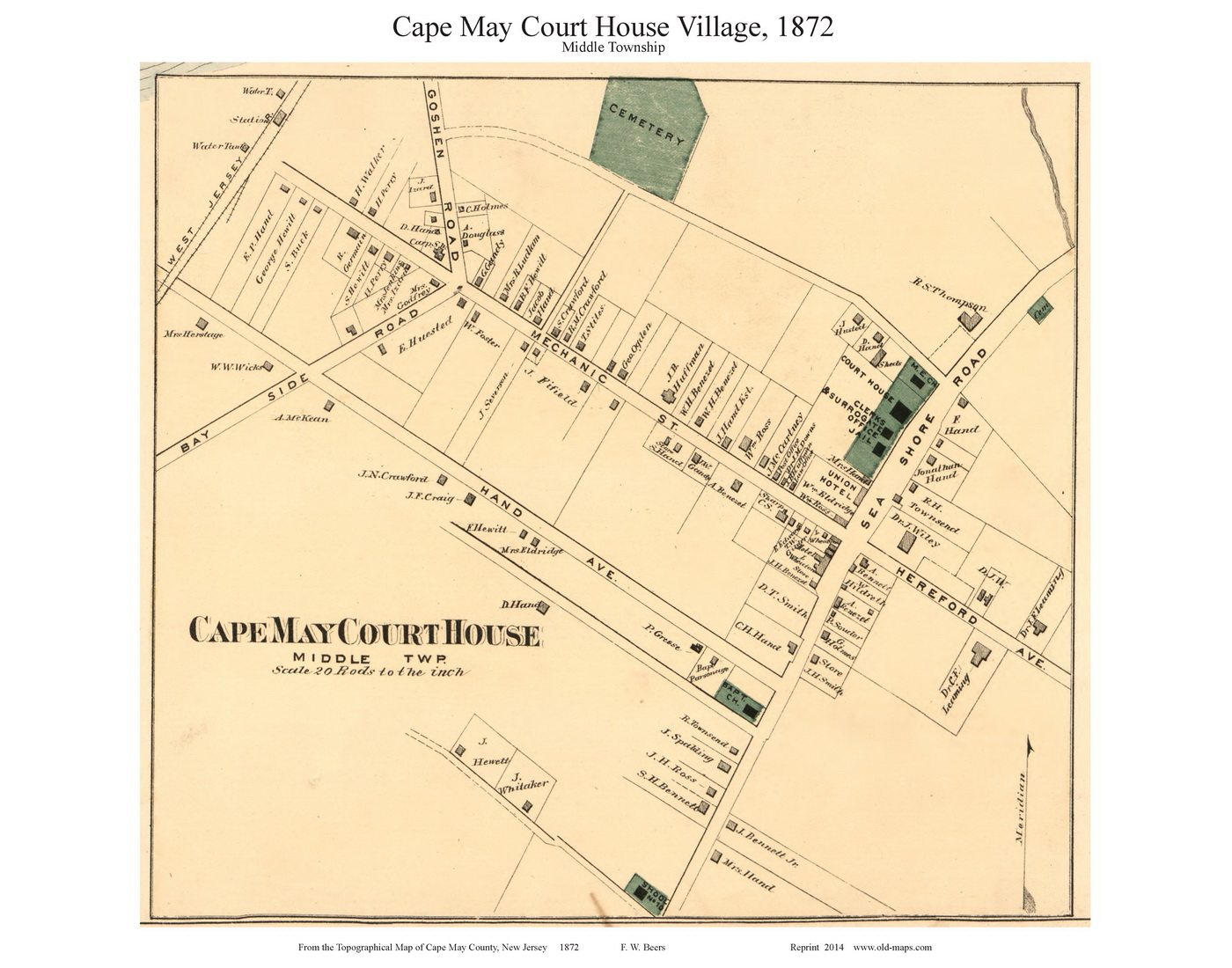 Cape May Court House Village - Middle Township, New Jersey 1872 Old Cape May New Jersey Map on rehoboth beach, jersey shore, long branch, ocean county, cape may lighthouse, town of cape may map, mercer county, leonia new jersey map, cape may beach map, atlantic city, cape may tourist map, cape may county, cape may county herald, town bank cape may map, cape may downtown map, cape may city map, southern new jersey map, stone harbor, sea isle city, delaware bay, south jersey, asbury park, rio grande, belmar new jersey map, cape may street map, cumberland county new jersey map, cape may diamonds, cape may sound, ocean city, lawrence township new jersey map, strathmere new jersey map, allentown new jersey map, cape may national wildlife refuge map, cape may county map, cape may nj,