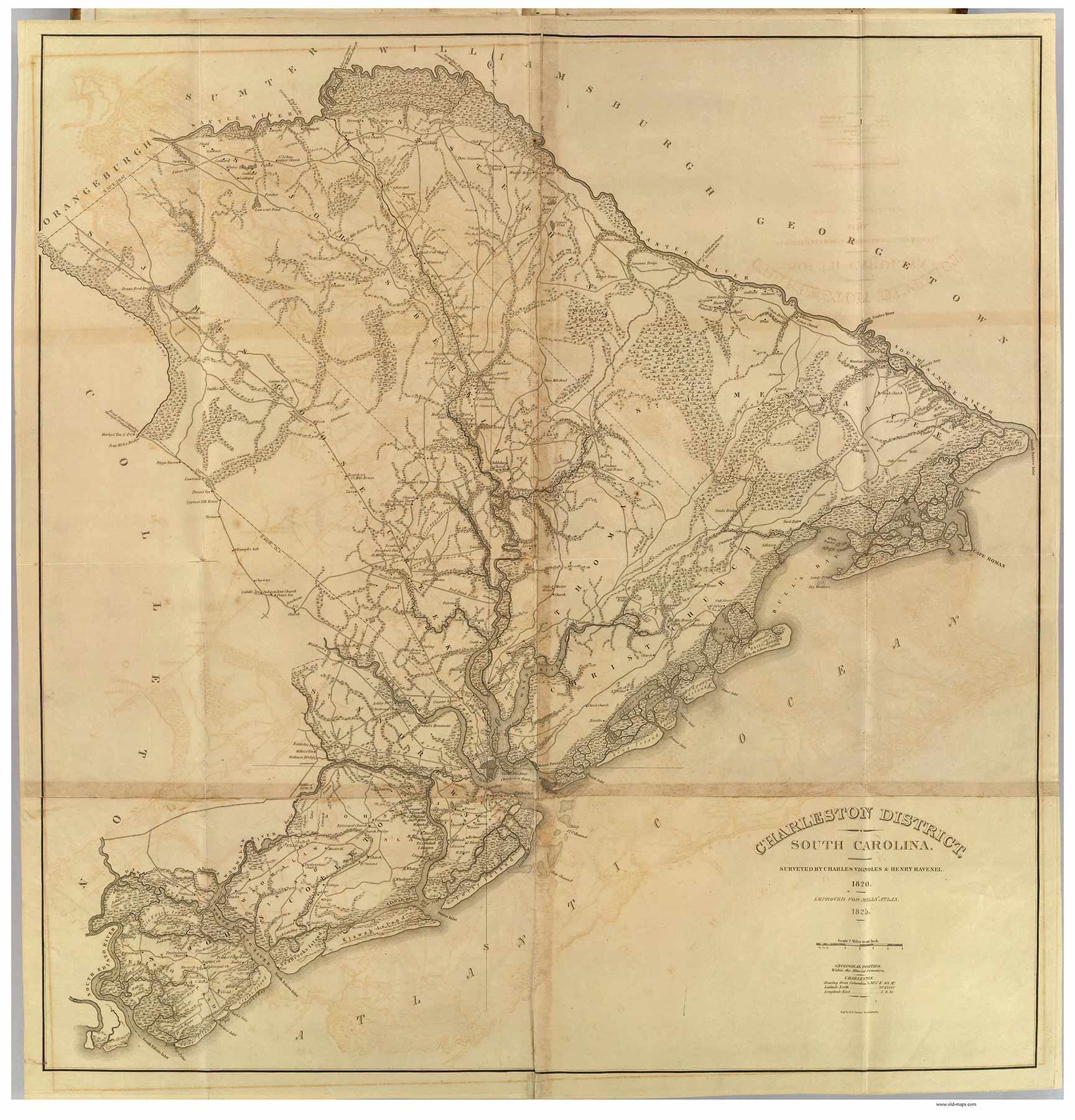 Charleston District, 1825 South Carolina